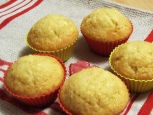 Tangy Lemon Muffins